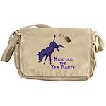 kick-out-tea-party Messenger Bag
