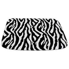 Zebra Stripe Bathmat