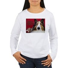 Home is where the Sheltie is Long Sleeve T-Shirt