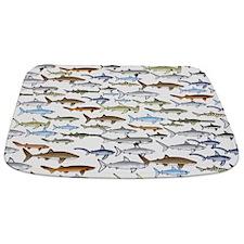 School of Sharks 2 Bathmat