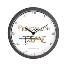 Medication Time White Wall Clock