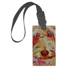 Harvey the Doodle Luggage Tag