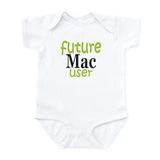 Future Mac User (green) Infant Bodysuit