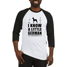 LITTLE GERMAN - Min Pin Baseball Jersey
