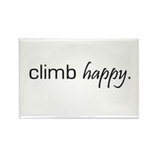 Climb Happy Rectangle Magnet