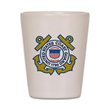 US Coast Guard Shot Glass