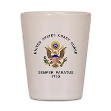 Semper Paratus Shot Glass