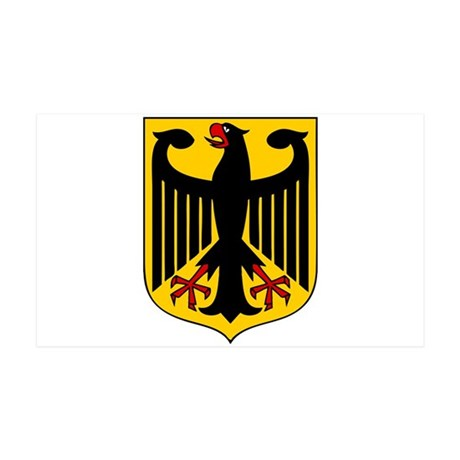Germany Coat of Arms 35x21 Wall Decal