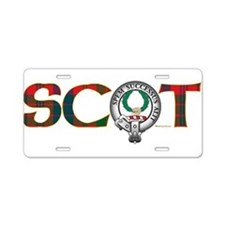 Ross Clan Aluminum License Plate