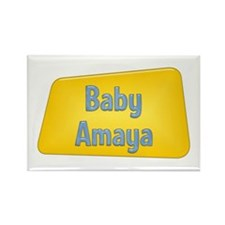 Baby Amaya Rectangle Magnet