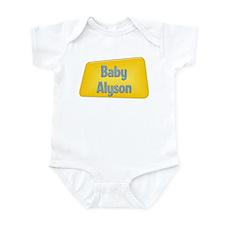Baby Alyson Infant Bodysuit