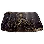 Octopus' lair - Old Photo Bathmat