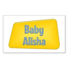 Baby Alisha Rectangle Decal