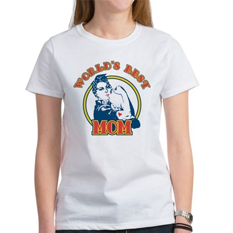 Rosie Riveter Best Mom Women's T-Shirt