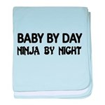 BABY BY DAY. Ninja by Night baby blanket