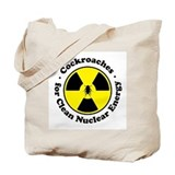 Nuclear Cockroaches Tote Bag