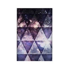 Galaxy Triangles Rectangle Magnet