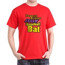 PBJ Baseball Bat T-Shirt