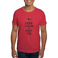 Knit On T-Shirt