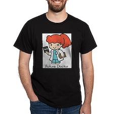 Future Doctor - girl Ash Grey T-Shirt