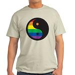 YIN YANG SYMBOL - RAINBOW Light T-Shirt