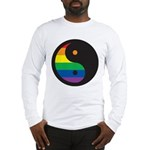 YIN YANG SYMBOL - RAINBOW Long Sleeve T-Shirt