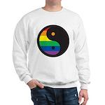 YIN YANG SYMBOL - RAINBOW Sweatshirt