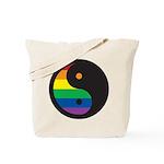 YIN YANG SYMBOL - RAINBOW Tote Bag