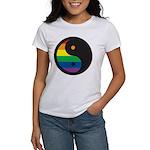 YIN YANG SYMBOL - RAINBOW Women's T-Shirt
