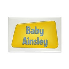 Baby Ainsley Rectangle Magnet (100 pack)