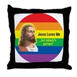 JESUS LOVE ME Throw Pillow