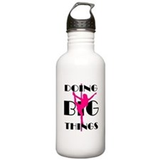 Doing BIG Things Pink Water Bottle