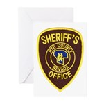 Nye County Sheriff Greeting Cards (Pk of 10)