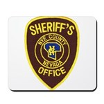 Nye County Sheriff Mousepad