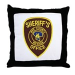 Nye County Sheriff Throw Pillow