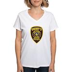 Nye County Sheriff Women's V-Neck T-Shirt