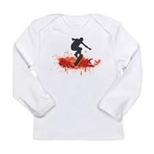 Cute Sports clips Long Sleeve Infant T-Shirt