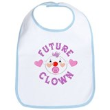 Clown Girl Bib