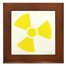 Cool Radioactive Framed Tile