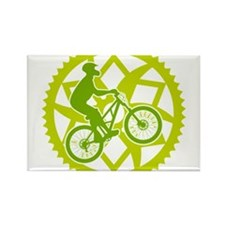 Cute Bicycle parts Rectangle Magnet