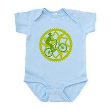 Unique Bicycle parts Infant Bodysuit