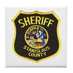 Stanislaus County Sheriff Tile Coaster