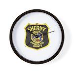 Stanislaus County Sheriff Wall Clock