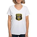 Stanislaus County Sheriff Women's V-Neck T-Shirt