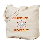 Harmony and Diversity Tote Bag