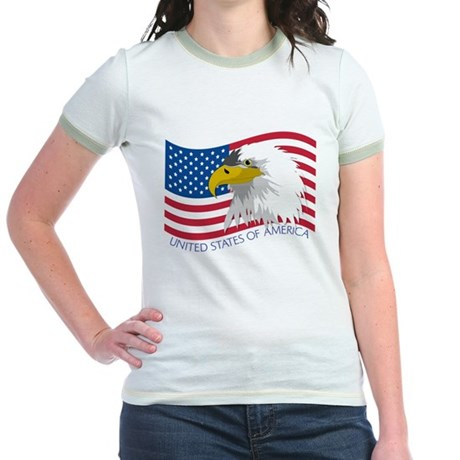 Bald Eagle Jr. Ringer T-Shirt