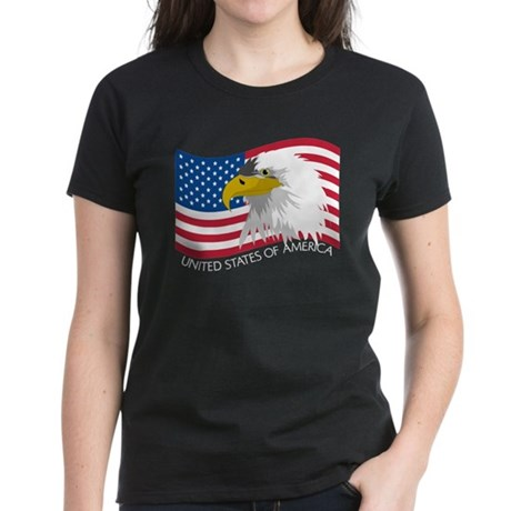 Bald Eagle Women's Dark T-Shirt