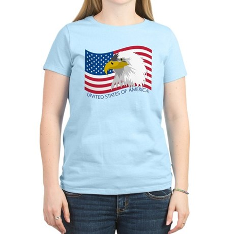 Bald Eagle Women's Light T-Shirt