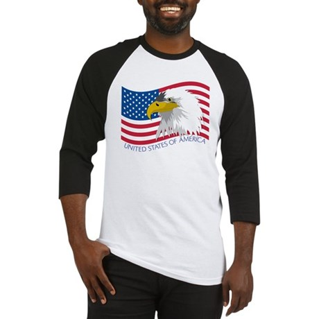 Bald Eagle Baseball Jersey