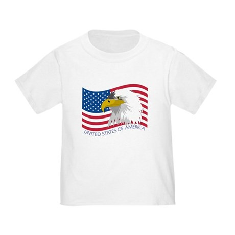 Bald Eagle Toddler T-Shirt
